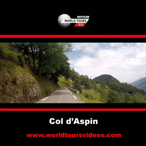 Col d'Aspin - Arreau - France - Kettler World Tours Videos DVD