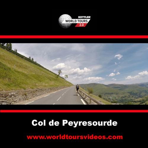Col de Peyresourde - Bagneres - France - Kettler World Tours Videos DVD