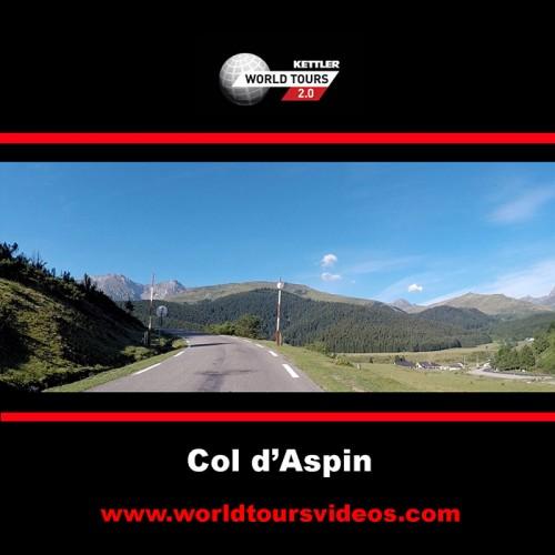 Col d'Aspin - Campan - France - Kettler World Tours Videos DVD