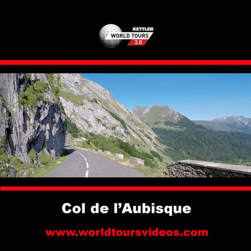 Col de l'Aubisque - Gazost - France - Kettler World Tours Videos DVD