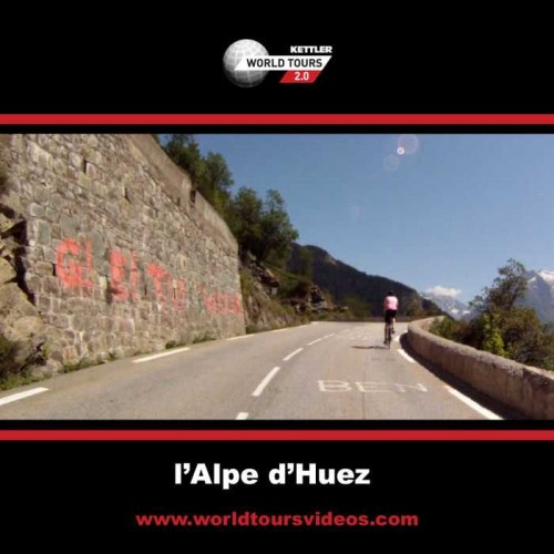 Alpe d'Huez - France - Kettler World Tours Videos DVD